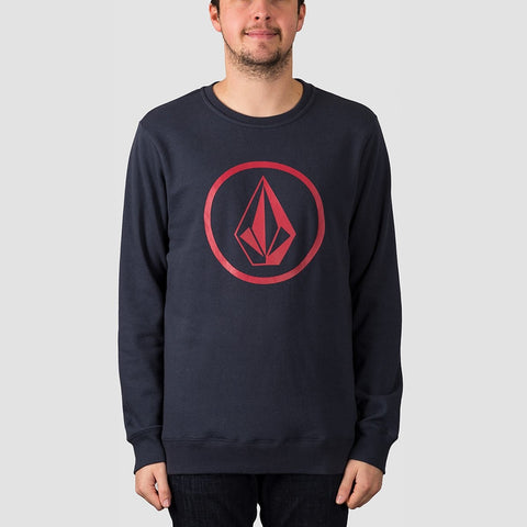 Volcom Stone Crew Sweat Navy