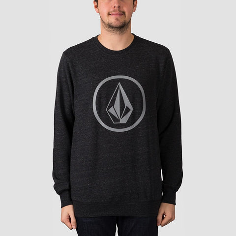 Volcom Stone Crew Sweat Sulfur Black