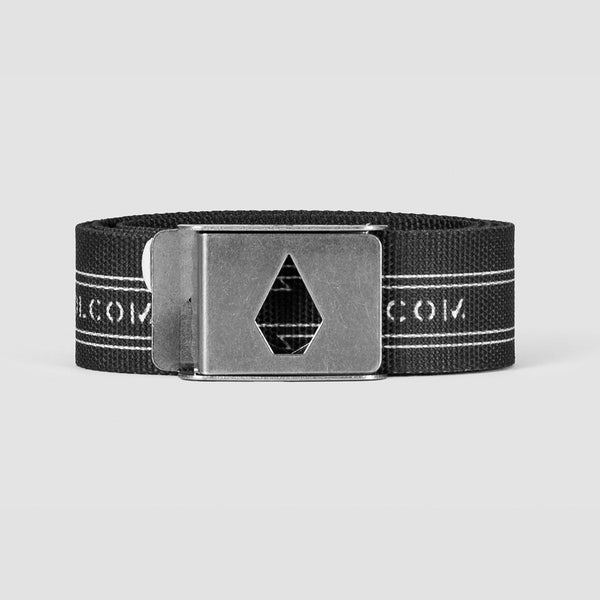 Volcom Stone Cut Web Belt Black - Accessories