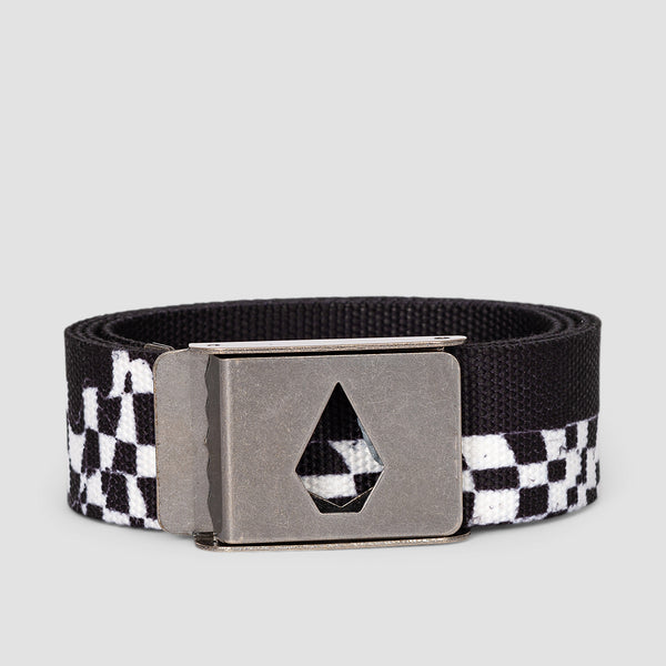 Volcom Stone Cut Web Belt New Black