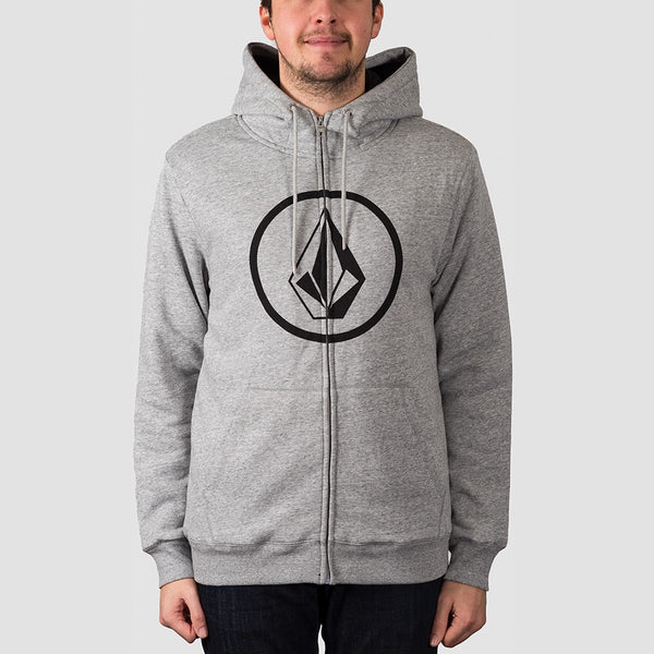 Volcom Stone Lined Zip Hood Storm - Clothing