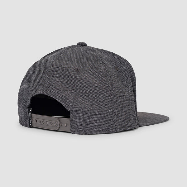 Volcom Stone Tech 110 Snapback Cap Charcoal Heather