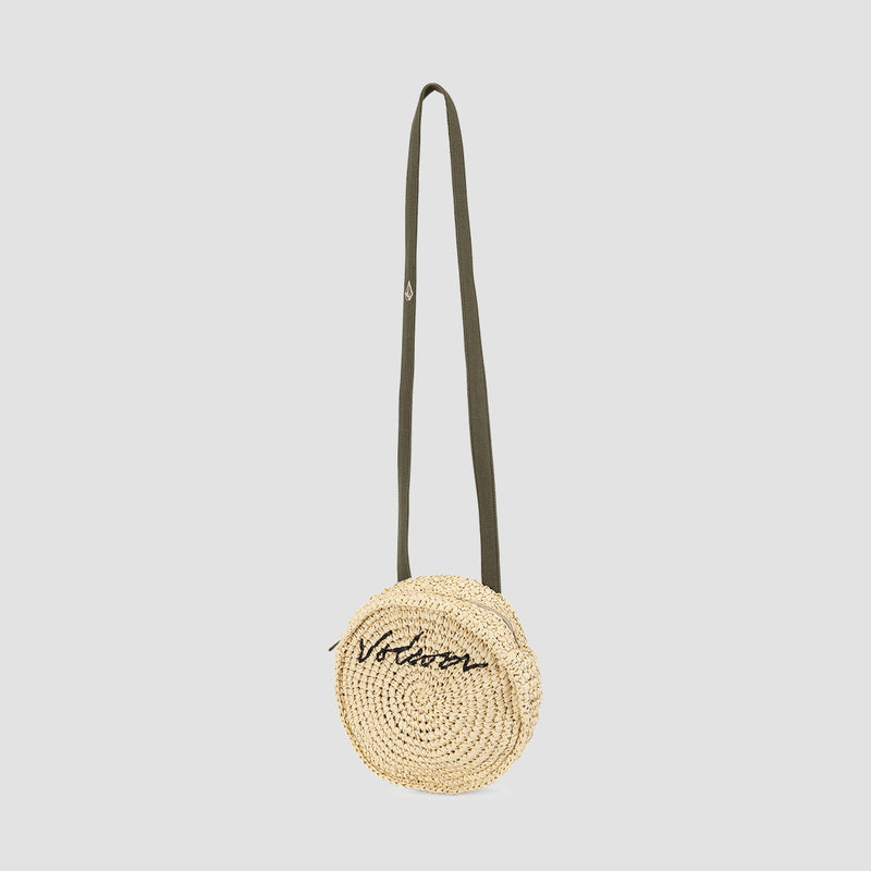 Volcom Strawstone Bag Natural - Womens