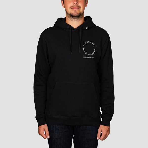Volcom Supply Stone Pullover Hood New Black