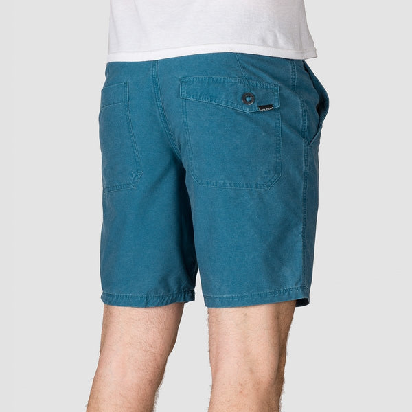 Volcom Surf N Turf Faded Hybrid 19 Shorts Sea Navy - Clothing