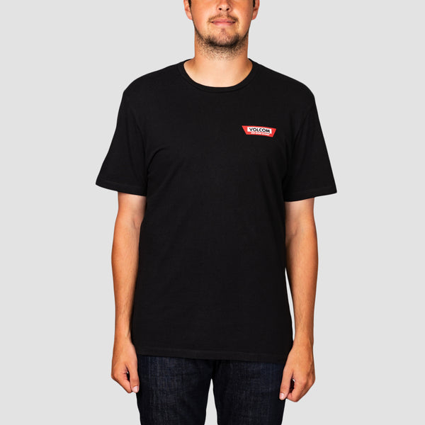 Volcom Trap Ltw Tee Black
