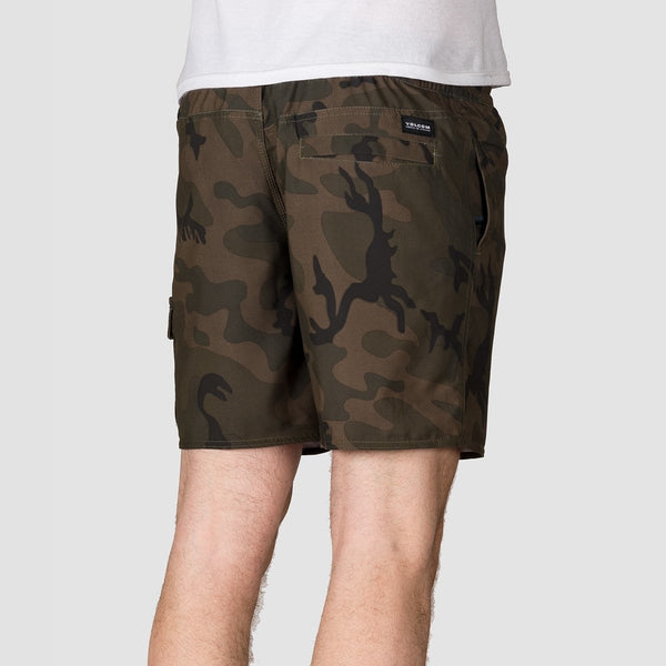 Volcom True Trunks 17 Boardshorts Camouflage - Clothing