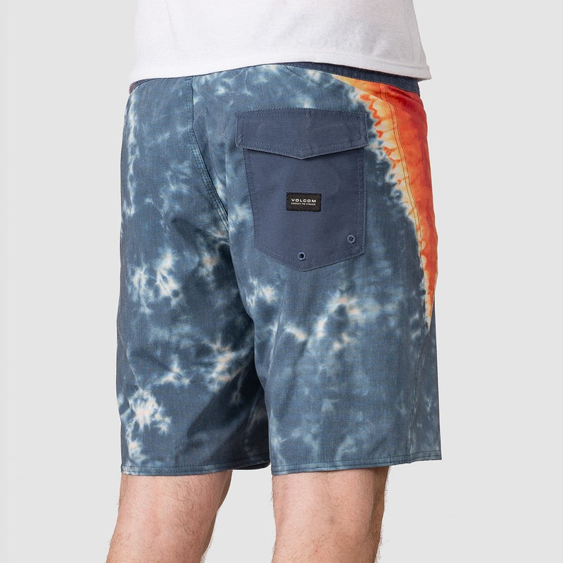 Volcom V Dye Stoney 19 Boardshorts Indigo - Clothing