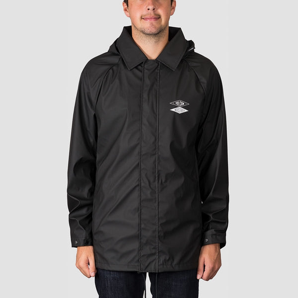 Volcom V.I. Rain Jacket Black - Clothing