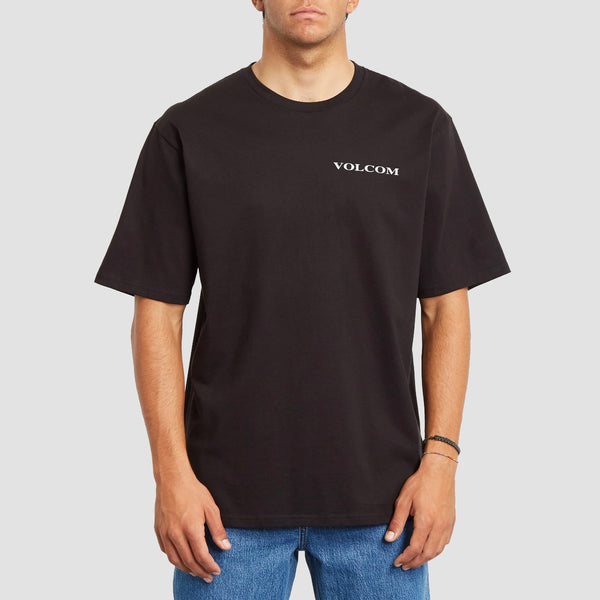 Volcom Volcom Stone Relaxed Fit Tee Black