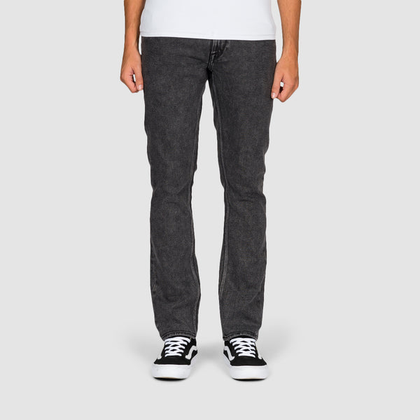 Volcom Vorta Slim Fit Jeans Light Acid Black