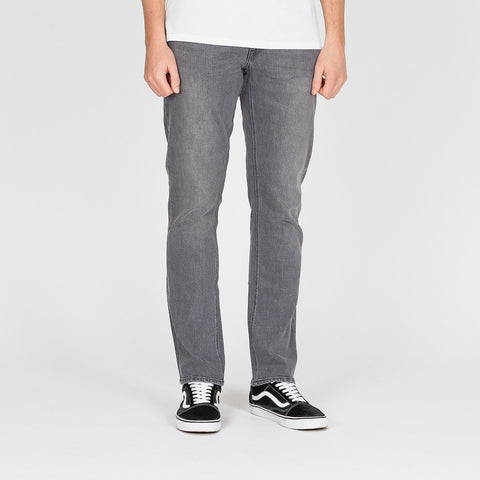Volcom Vorta Slim Fit Jeans Power Grey