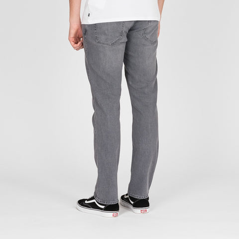 Volcom Vorta Slim Fit Jeans Power Grey - Clothing