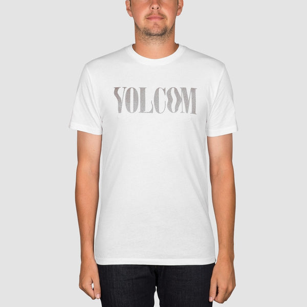 Volcom Weave Tee White - Clothing