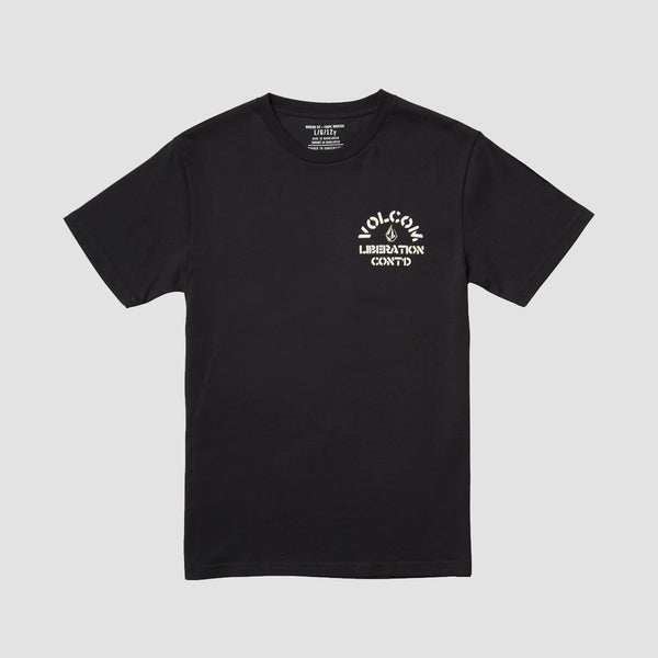 Volcom Yellers Tee Black - Kids