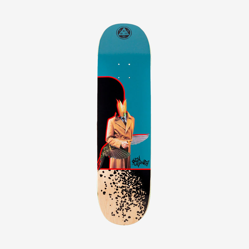 Welcome Hummingbird on Enenra Ryan Townley Pro Deck Slate - 8.5""
