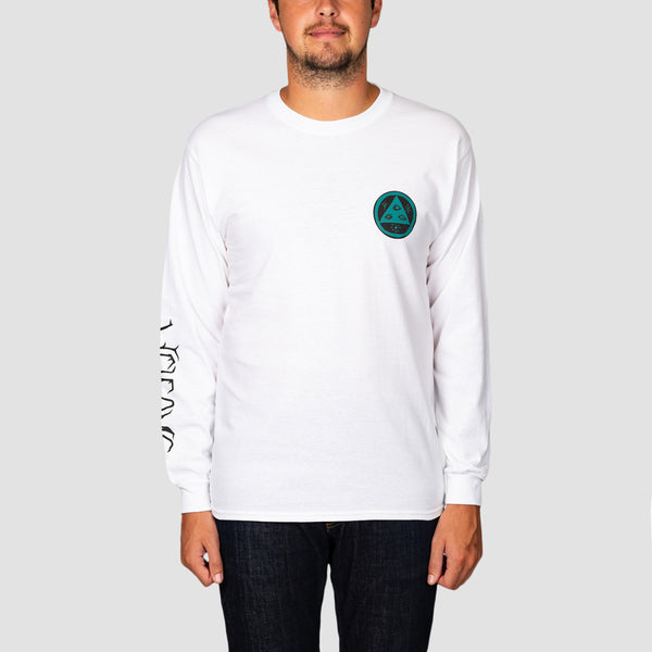 Welcome Infinitely Batty Longsleeve Tee White