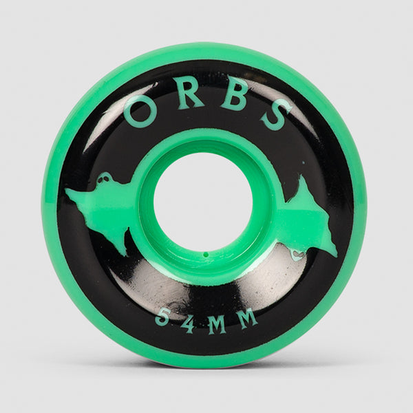 Welcome Orbs Specters Solids 99A Wheels Mint/Black 54mm