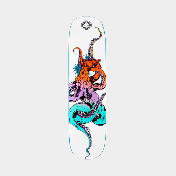 Welcome Seahorse 2 on Amulet Deck White/Prism - 8.125""