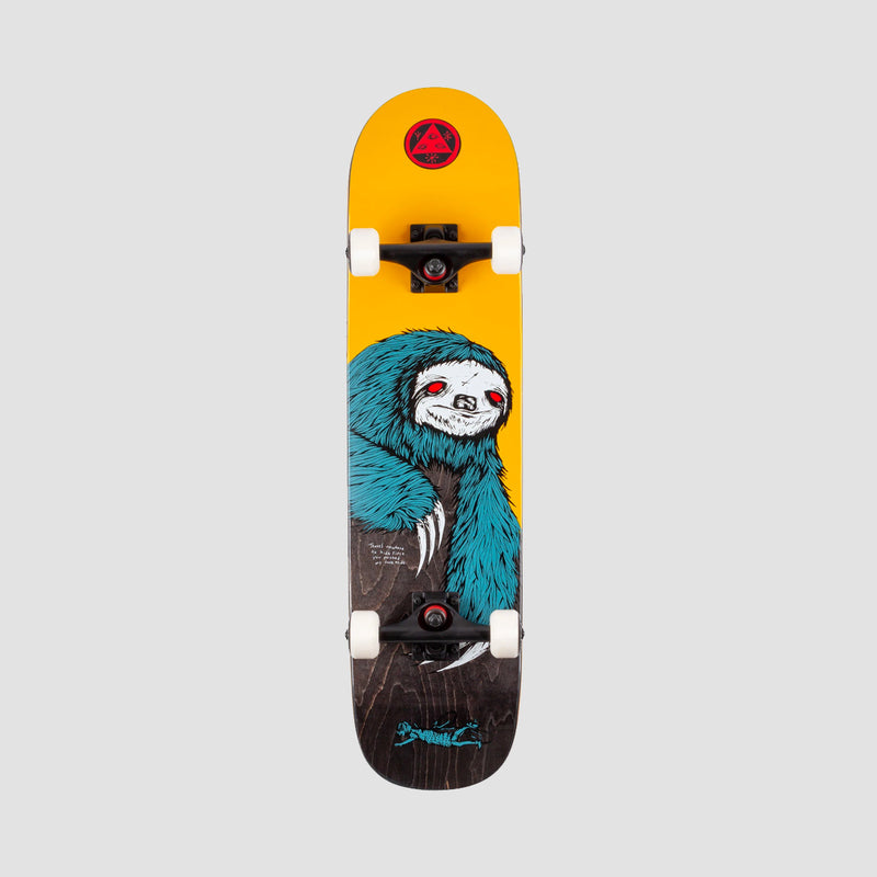 Welcome Sloth Pre-Built Complete on Scaled Down Bunyip Gold/Black Stain - 7.75""