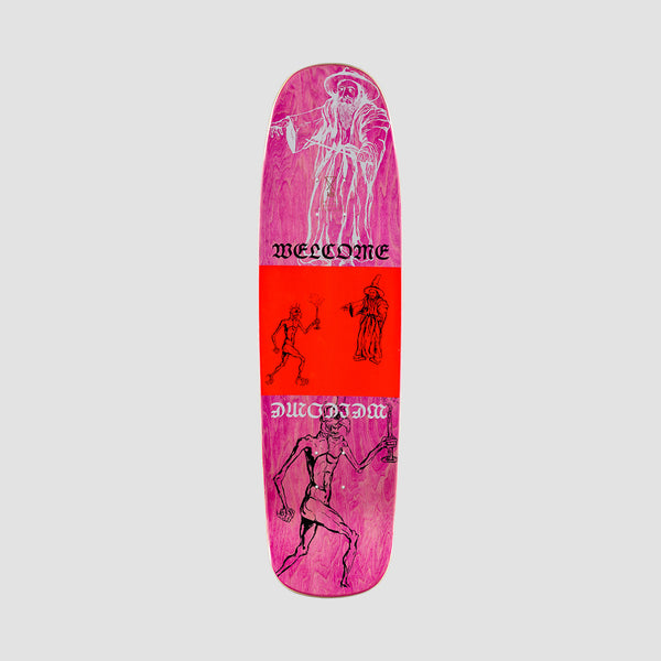 Welcome Stoker on Son of Golem Deck Black - 8.75""