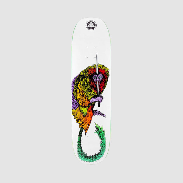 Welcome Tamarin on Moontrimmer 2.0 Deck White - 8.5""