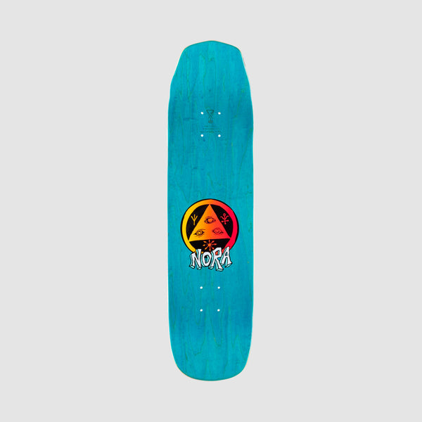 Welcome Teddy on Wicked Princess Nora Vasconcellos Pro Deck Grey/Various Stains - 8.125""