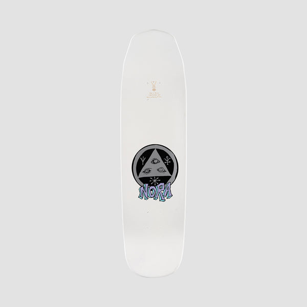 Welcome Teddy on Wicked Queen Nora Vasconcellos Pro Deck White Dip - 8.6""