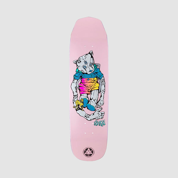 Welcome Teddy on Wicked Queen Nora Vasconcellos Pro Deck Pink - 8.6""