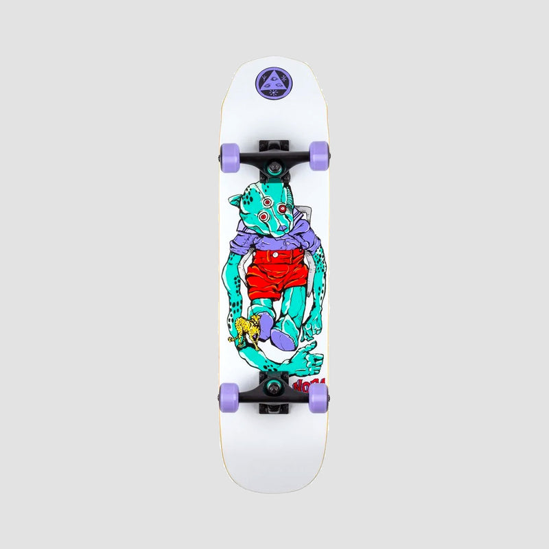 Welcome Teddy Pre-Built Complete on Scaled Down Wicked Princess White - 7.75""