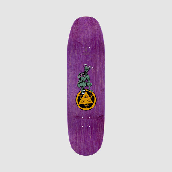 Welcome Tonight I'm Yours on Baculus Deck Purple Stain - 9""