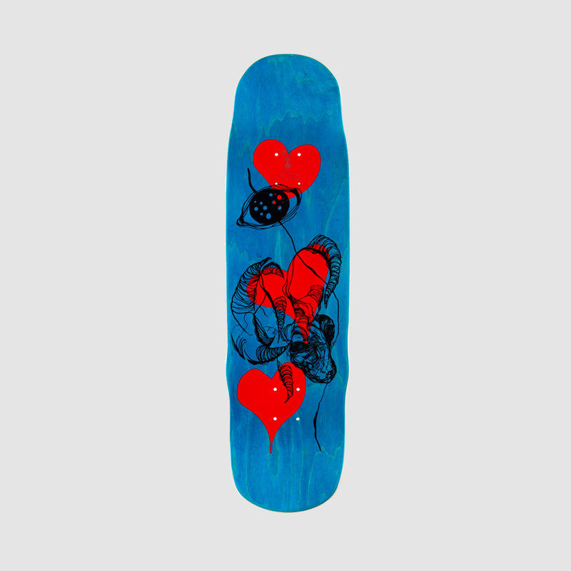 Welcome Tusk on Effigy Daniel Vargas Pro Deck Black - 8.8""