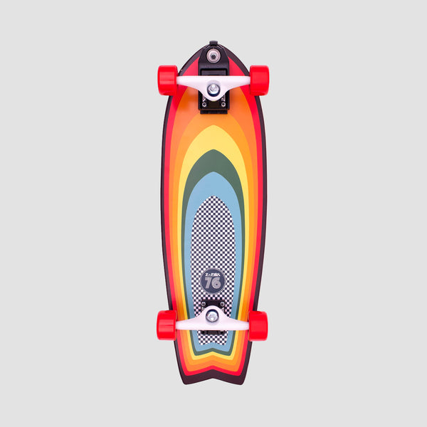 Z-flex Surf-a-gogo Surfskate Fish Cruiser Complete - 31""