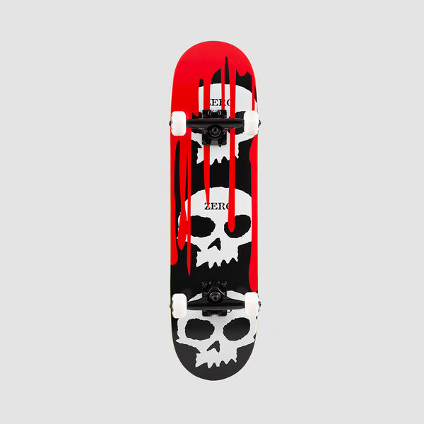 Zero 3 Skull Blood Pre-Built Complete Red/Black/White - 7.5""
