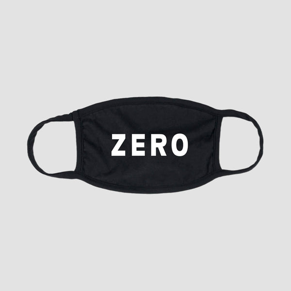 Zero Army Face Mask Black/White