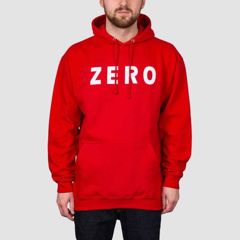 Zero Army Pullover Hood Red