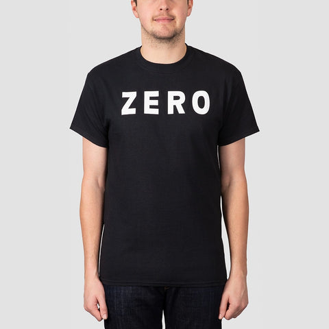 Zero Army Tee Black/White