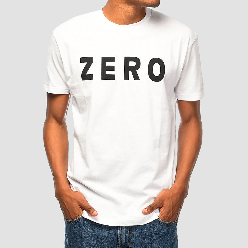 Zero Army Tee White/Black