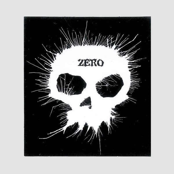 Zero Blown Ink Sticker 75mm x 70mm - Skateboard