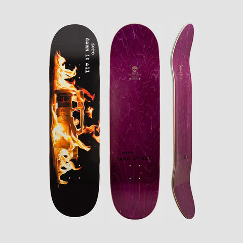 Zero Damn It All VX Deck - 8.625 - Skateboard
