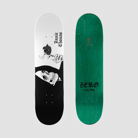Zero Loser Heavy Jamie Thomas R7 Deck Black - 8.25 - Skateboard