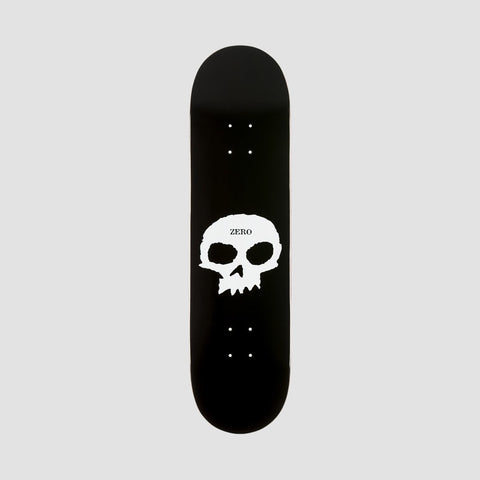 Zero Single Skull R7 Deck Black/White - 8.5""