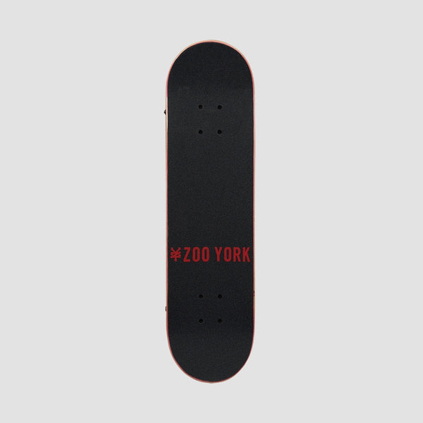 Zoo York Big Apple Pre-Built Complete White - 7.5 - Skateboard