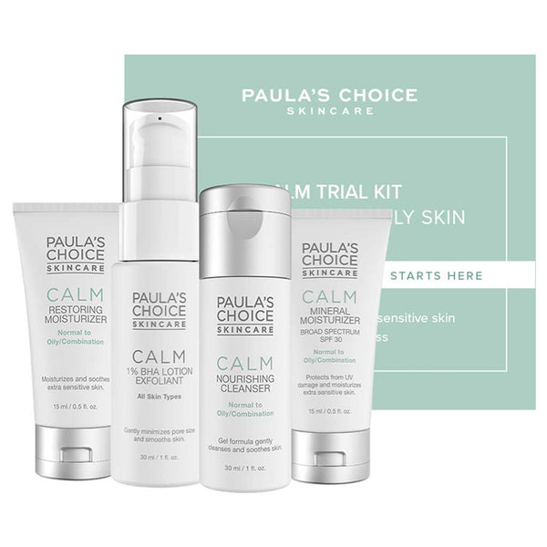 Paula's Choice Calm rejsekit - normal til fedtet hud