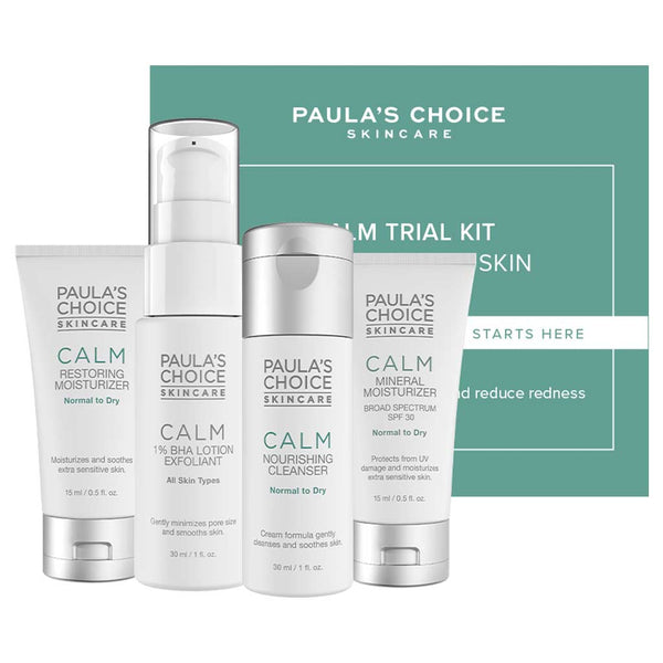 Paula's Choice Calm rejsekit - normal til tør hud