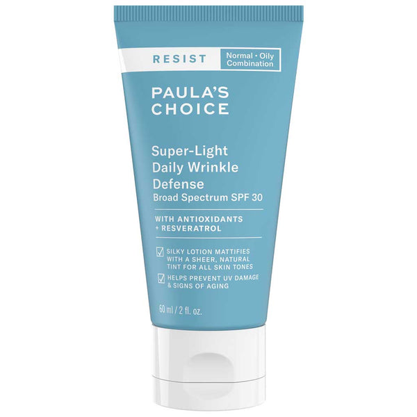 Paula's Choice Resist Super-Light Daily Wrinkle Defense SPF 30 - normal til fedtet hud