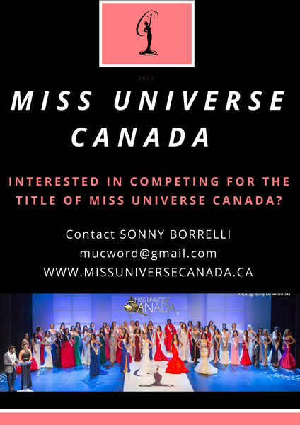 Could YOU be the next Miss Universe Canada?