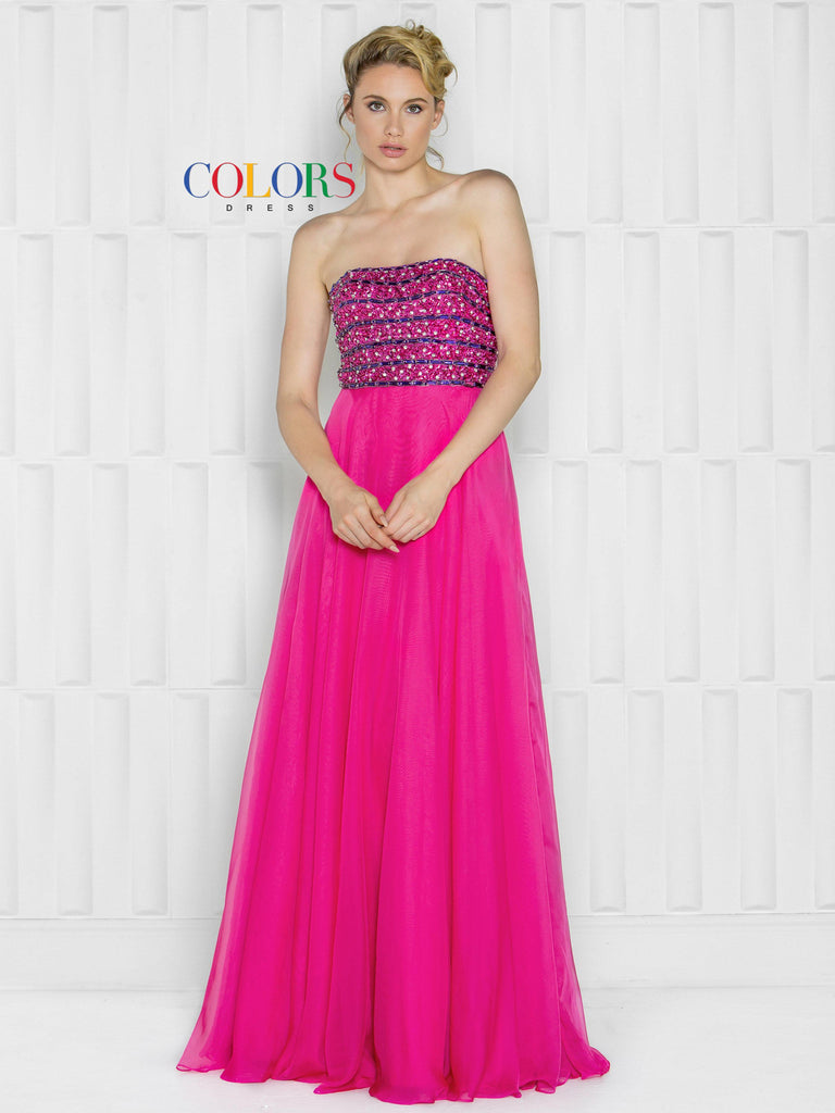 Colors Dress 1654