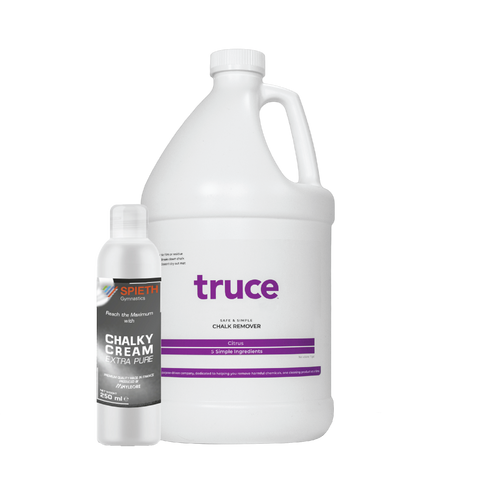 FREE Sanitizing Creamy Chalk with purchase of TRUCE Chalk Remover