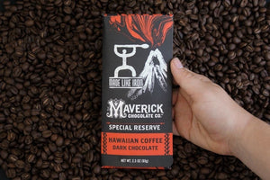 Hawaiian Coffee Dark Chocolate Bar